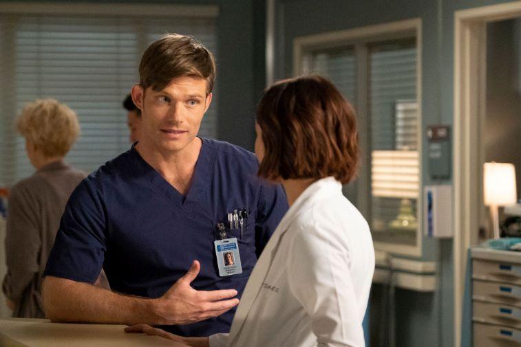 Grey's Anatomy's Chris Carmack