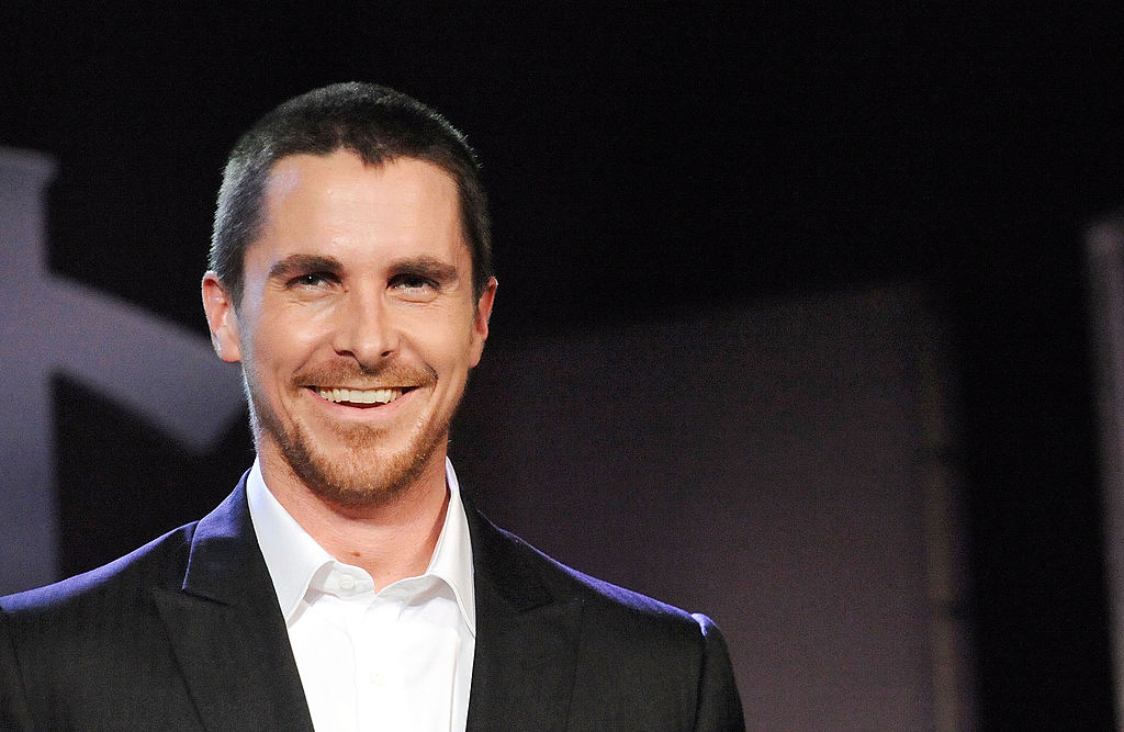 Christian Bale on the red carpet