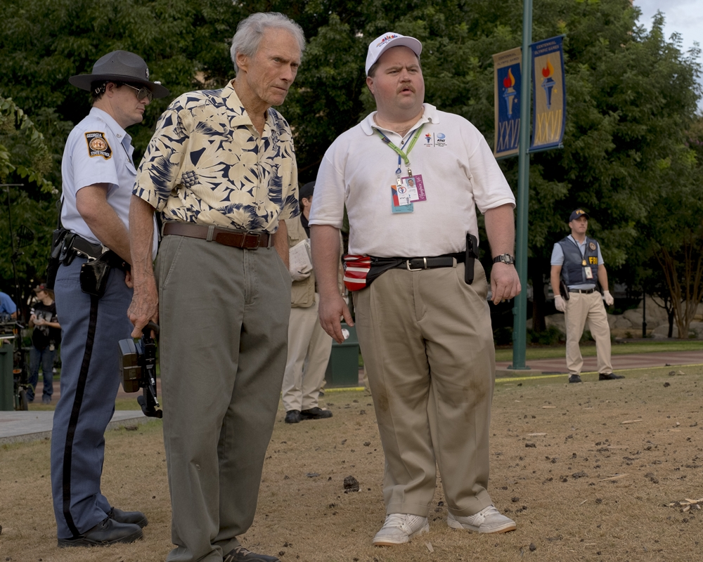 Clint Eastwood and Paul Walter Hauser
