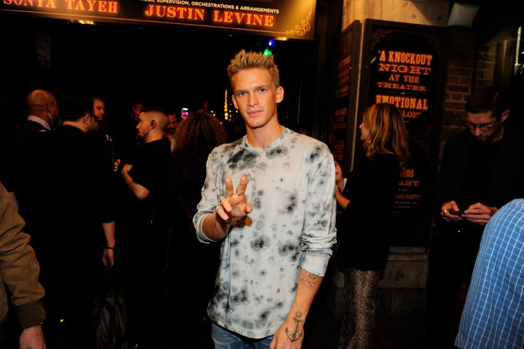 Cody Simpson attends The Blonds x Moulin Rouge! The Musical during New York Fashion Week