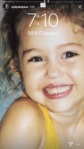Young Miley Cyrus