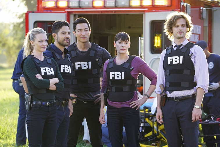 A.J. Cook, Adam Rodriguez, Daniel Henney, Paget Brewster, and Matthew Gray Gubler