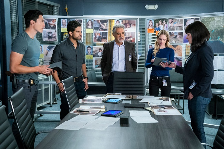 Daniel Henney, Adam Rodriguez, Joe Mantegna, A.J. Cook, and Paget Brewster