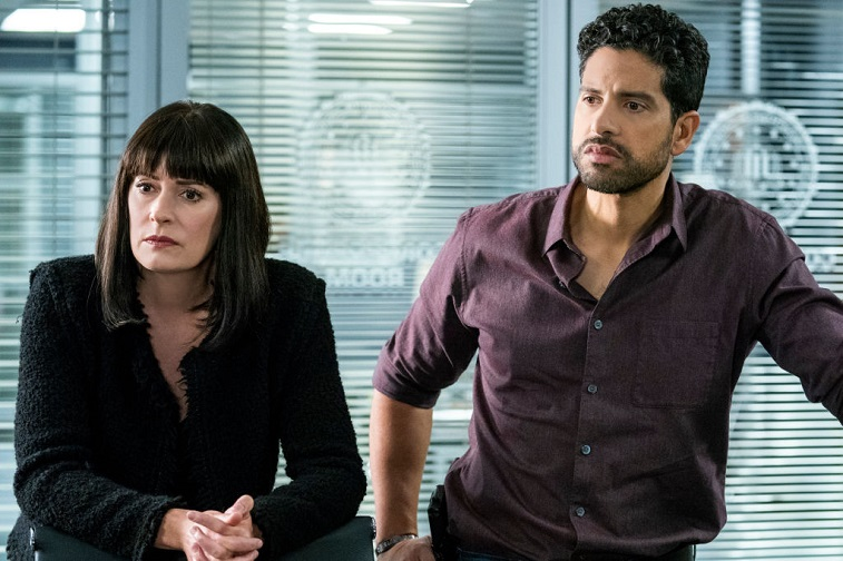 Paget Brewster and Adam Rodriguez