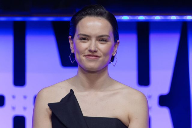 Daisy Ridley appears at Star Wars Celebration