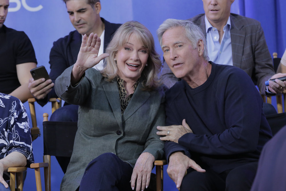 Deidre Hall and Drake Hogestyn