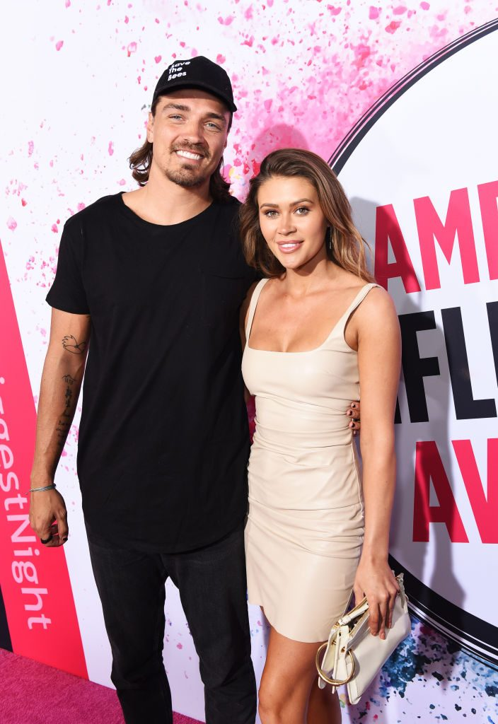 Dean Unglert and Caelynn Miller-Keyes | Presley Ann/Getty Images for American Influencer Awards