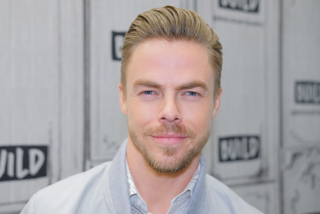 Derek Hough discusses the new show, 'World of Dance', at Build Studio
