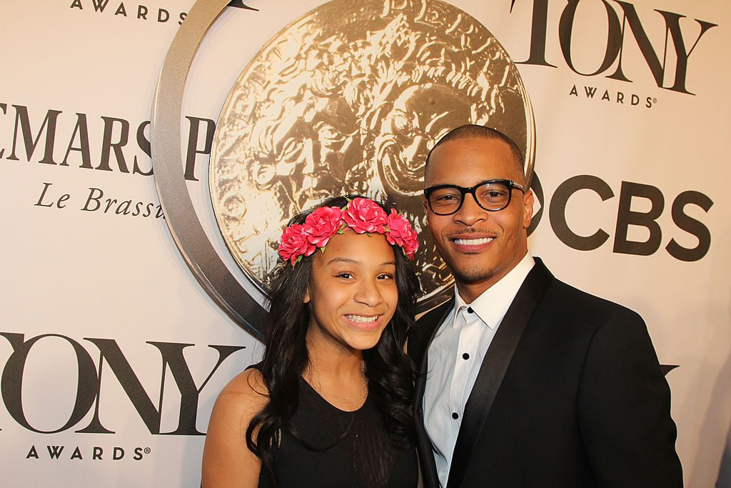 Deyjah Imani Harris and T.I.