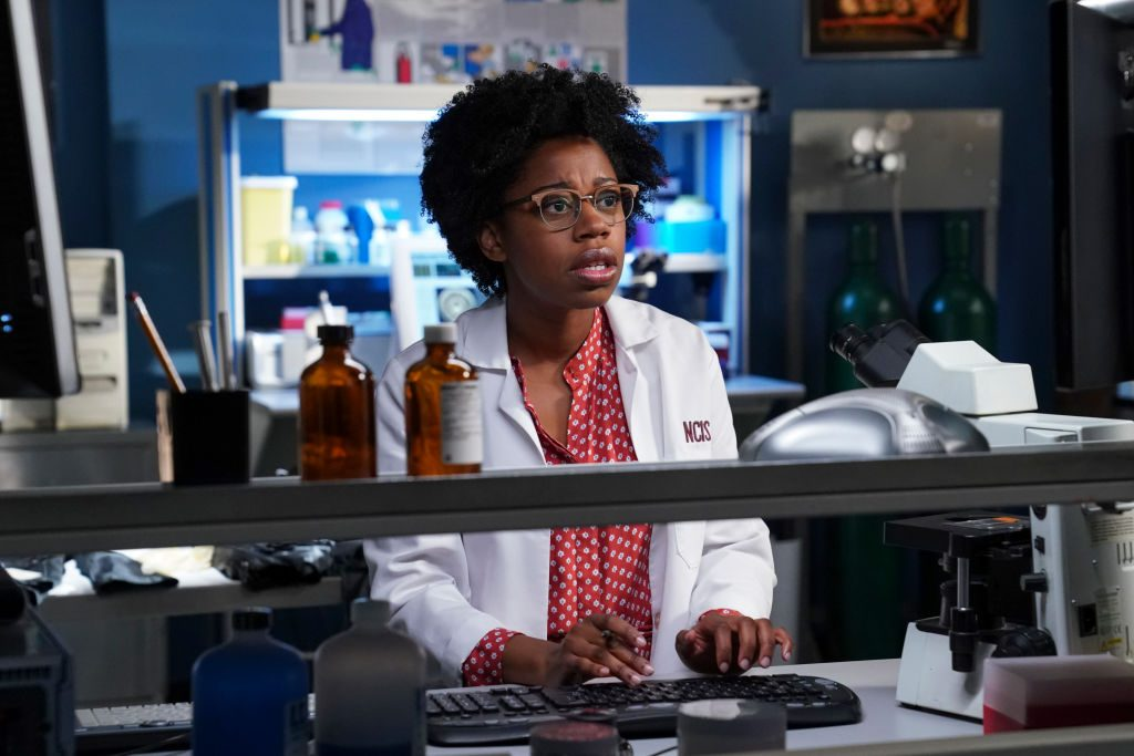 Diona Reasonover as Kasie Hines in NCIS | Michael Yarish/CBS via Getty Images