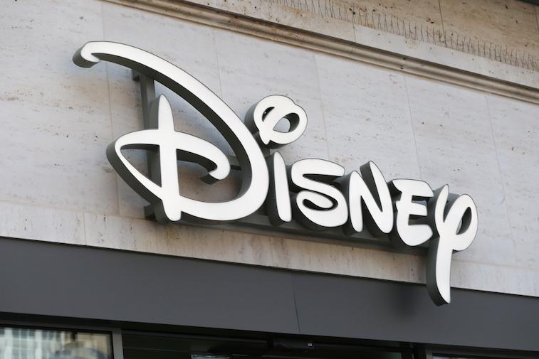 Disney Logo on a building