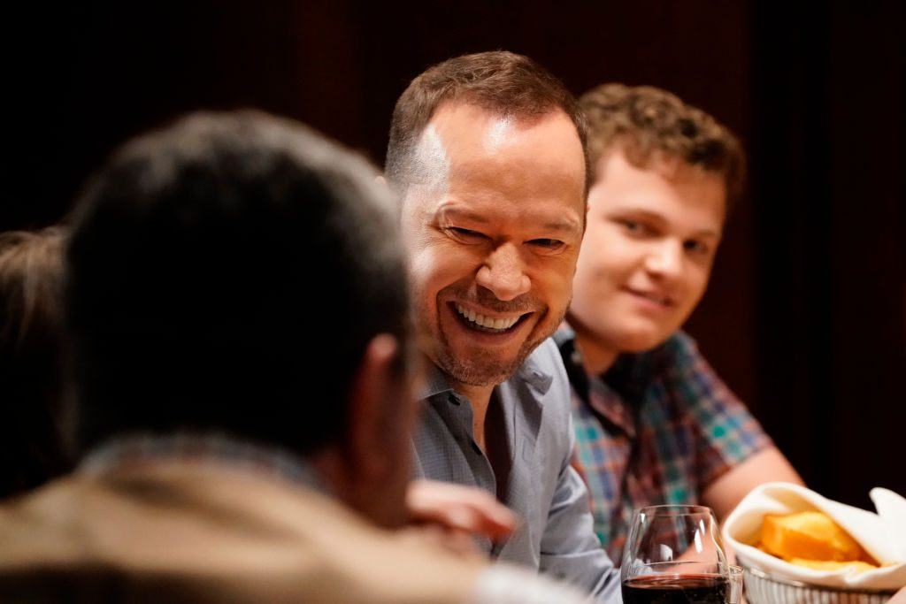 Donnie Wahlberg on the set of Blue Bloods |  John Paul Filo/CBS via Getty Images