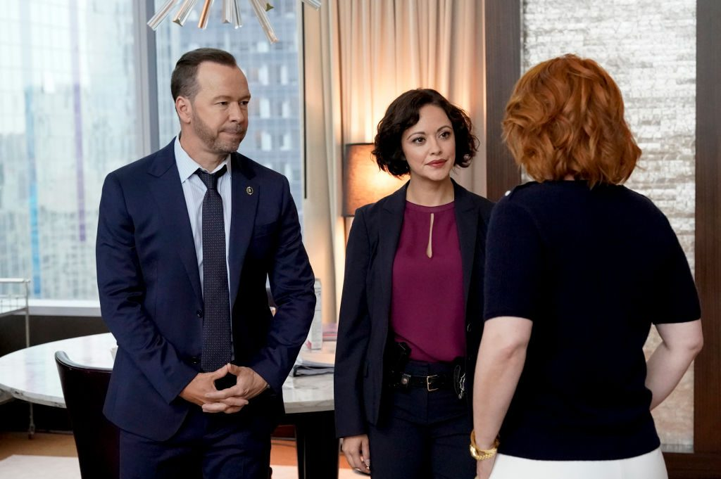 Donnie Wahlberg and Marisa Ramirez on Blue Bloods | John Paul Filo/CBS  ©2019CBS Broadcasting Inc. All Rights Reserved.