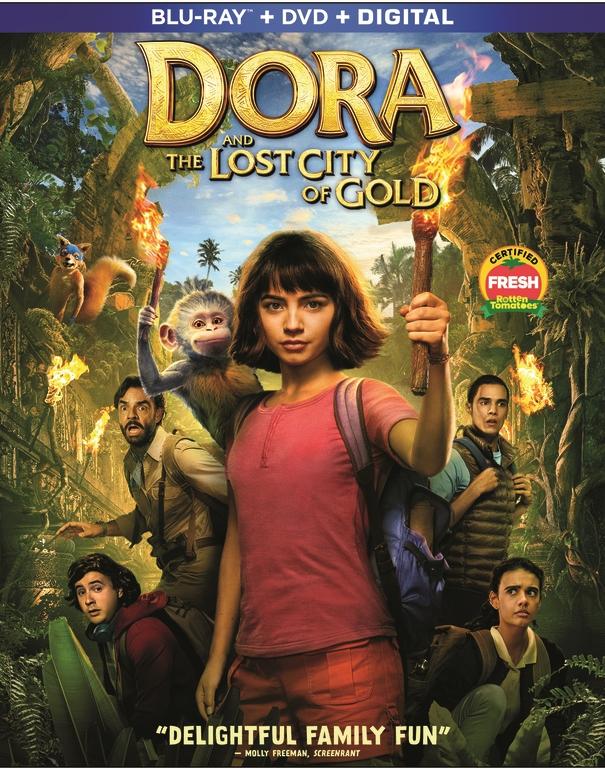 Live-action Dora the Explorer on Blu-ray