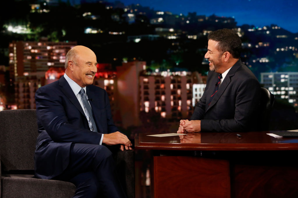Dr. Phil and Jimmy Kimmel
