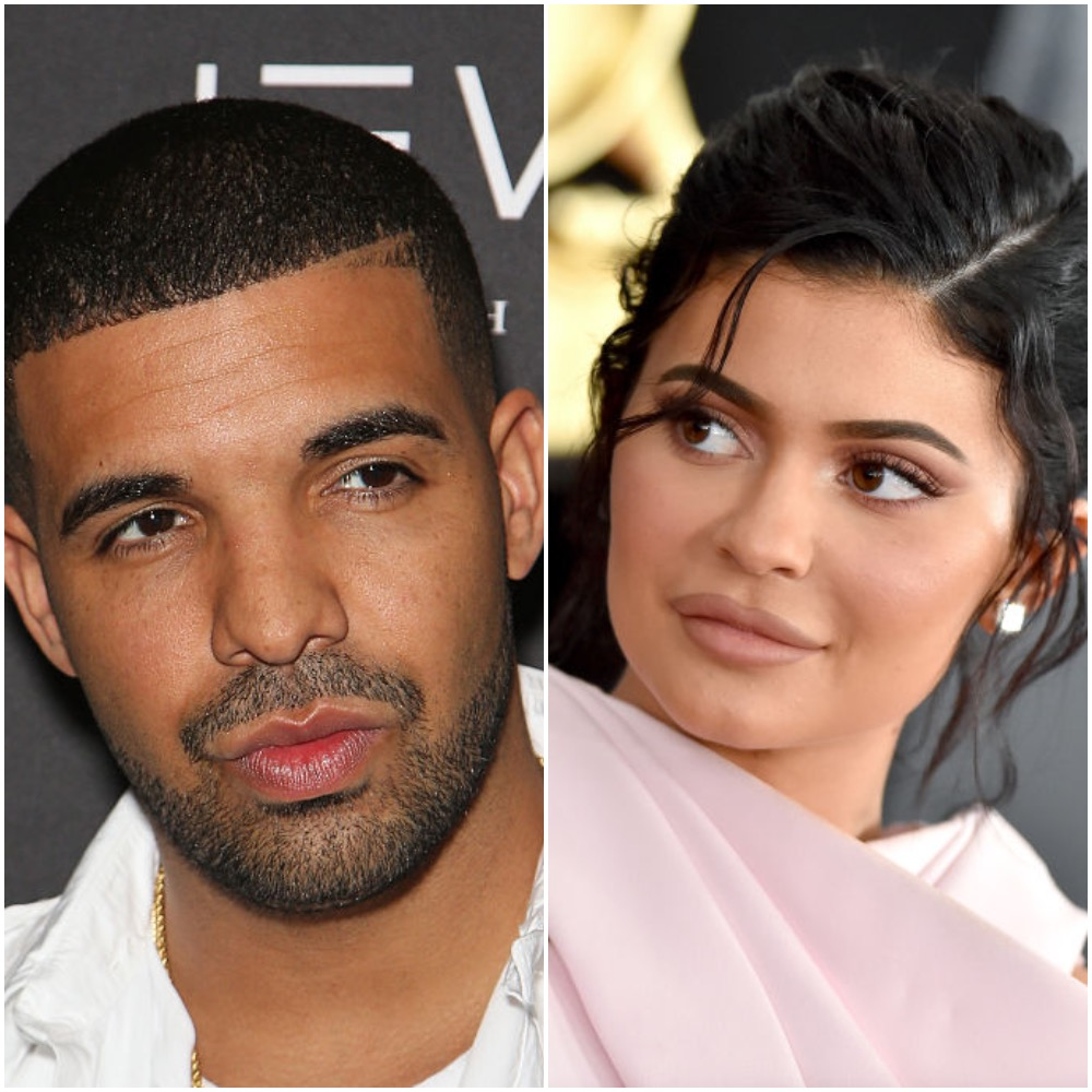 (L-R) Drake and Kylie Jenner