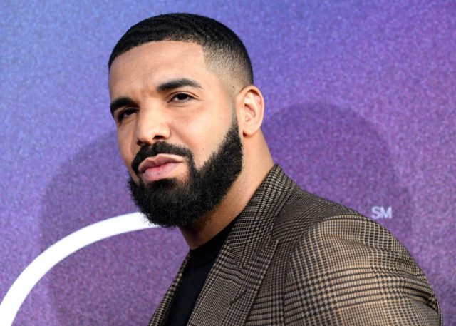 Drake at premiere of 'Euphoria' in 2019