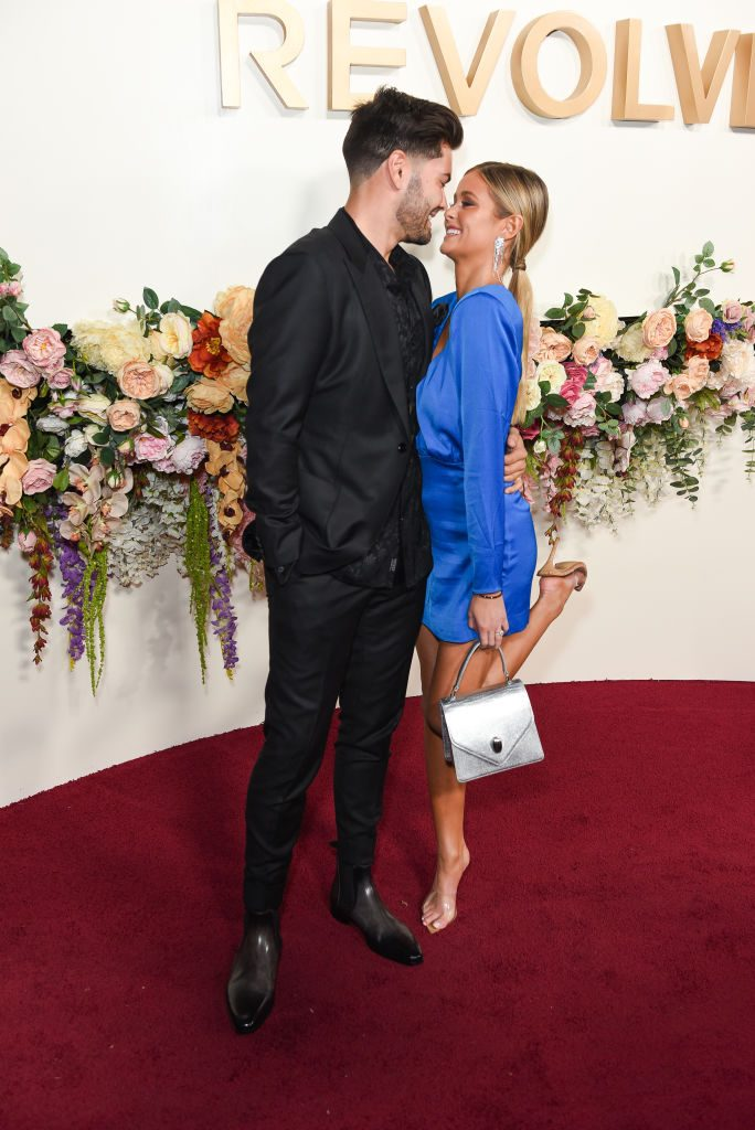 Dylan Barbour and Hannah Godwin | Presley Ann/WireImage