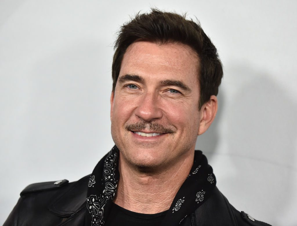 Dylan McDermott of 'American Horror Story' at the Hollywood Forever Cemetary in Los Angeles