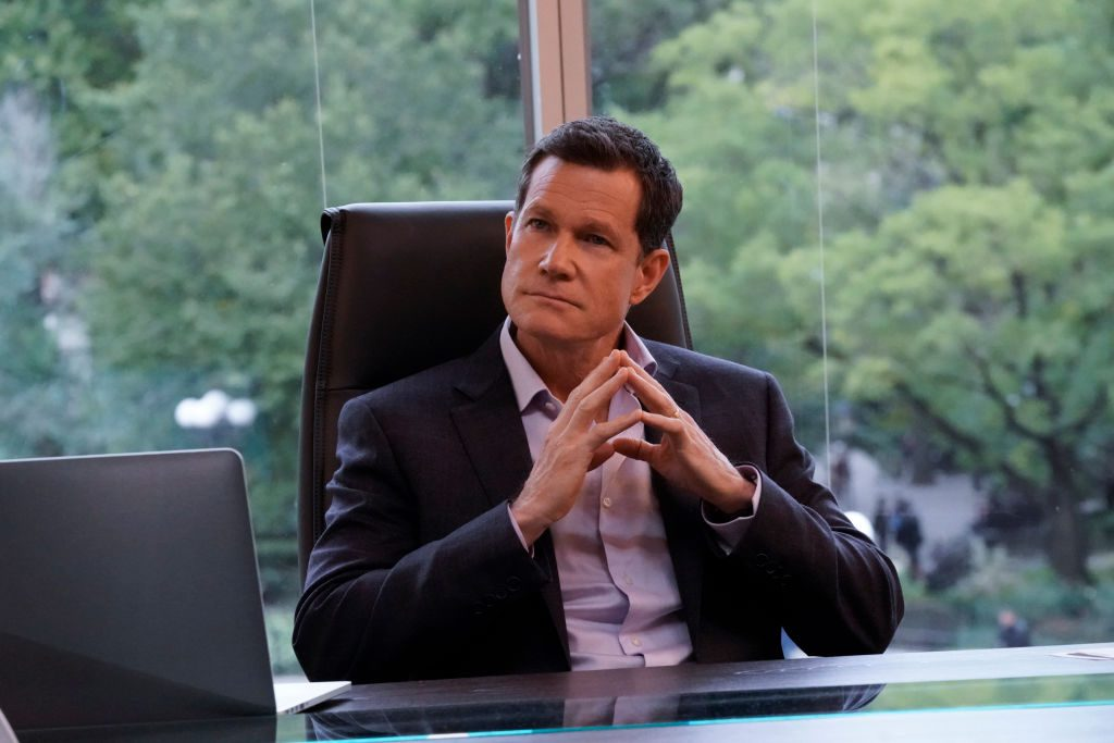 Dylan Walsh as Mayor Peter Chase |  John Paul Filo/CBS via Getty Images