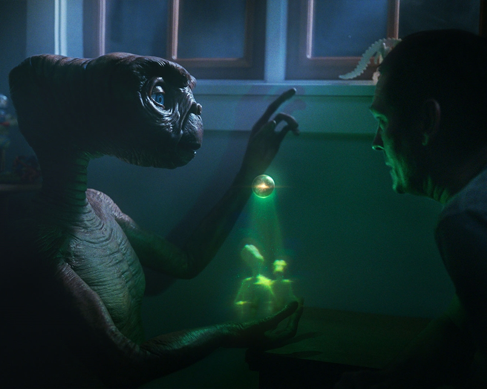 E.T. and Henry Thomas