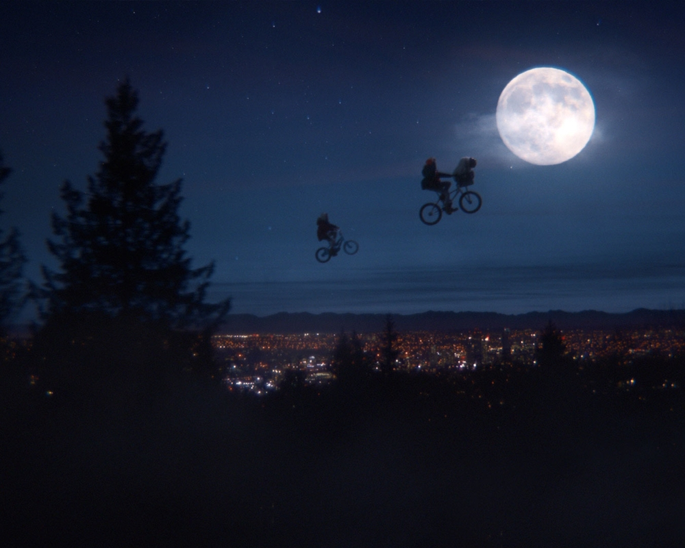 E.T. makes bikes fly again