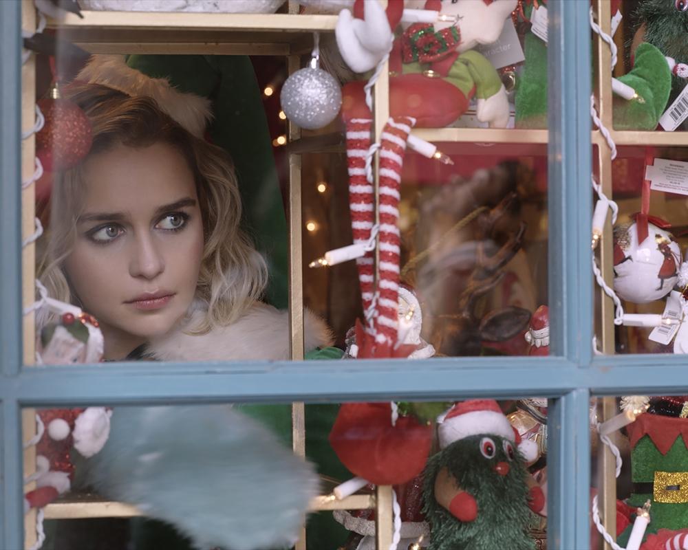 Emilia Clarke in Last Christmas, based on George Michael music
