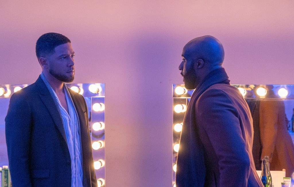 Jussie Smollett and guest star Toby Onwumere on 'Empire'