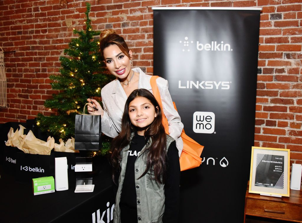 Farrah Abraham and daughter Sophia Abraham