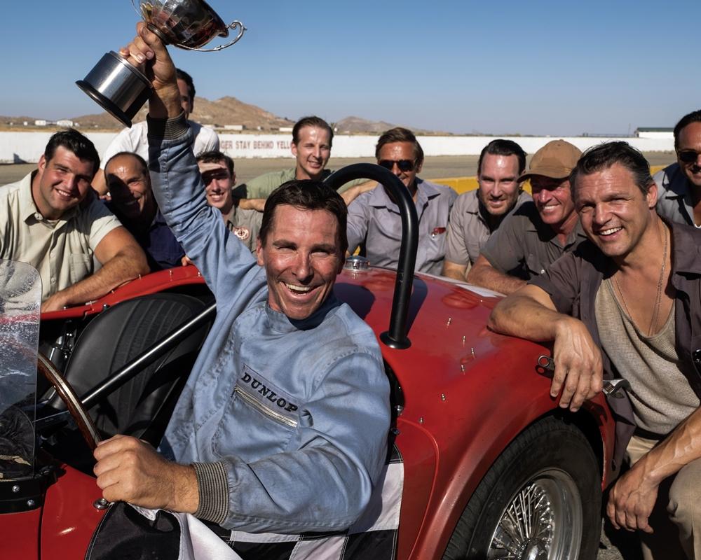 Christian Bale on Ford v Ferrari