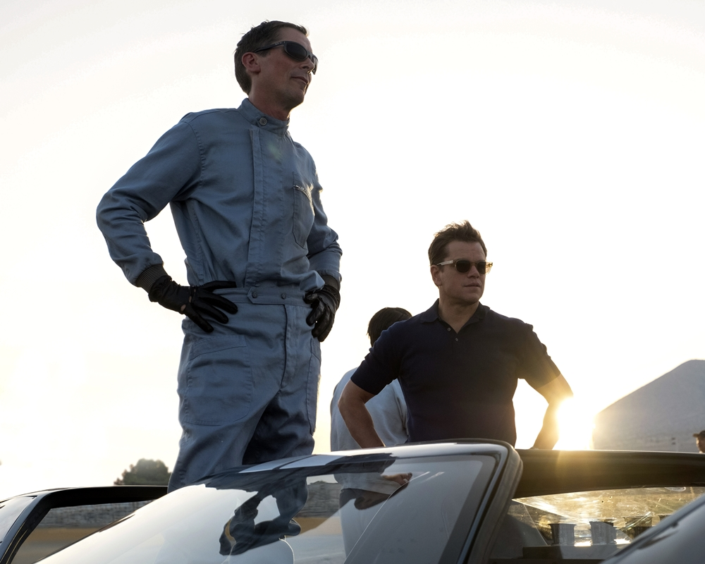 Christian Bale and Matt Damon in Ford v Ferrari