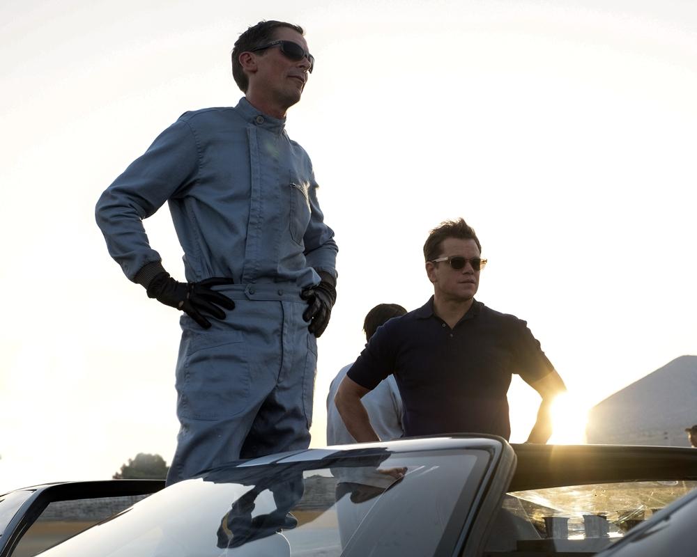 Christian Bale and Matt Damon in Ford v Ferrari