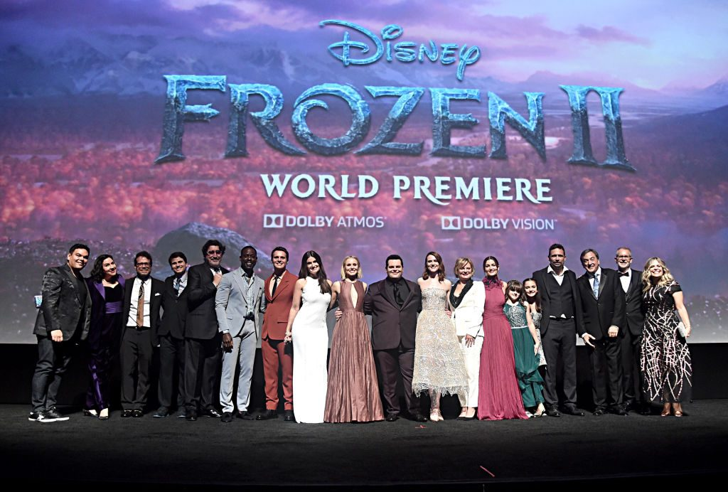 Frozen 2 cast and crew