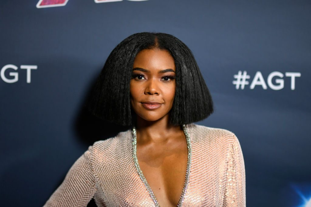 "Gabrielle Union on the ""America's Got Talent"" red carpet"
