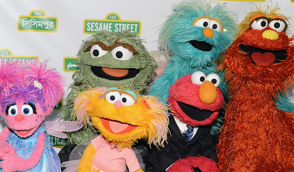 The Muppets of 'Sesame Street'