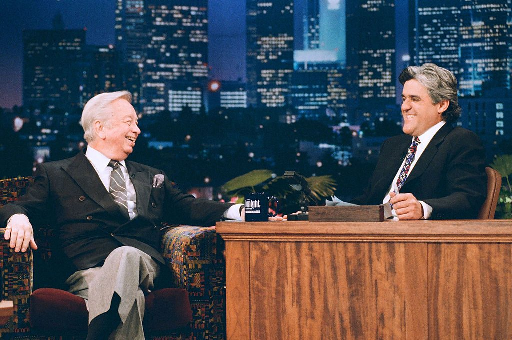 Mel Torme appearing on 'The Tonight Show with Jay Leno' in 1995