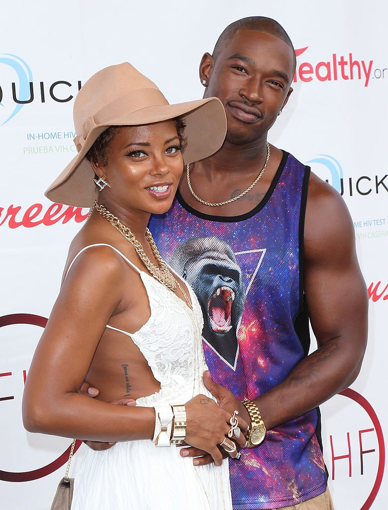 Kevin McCall and Eva Marcille
