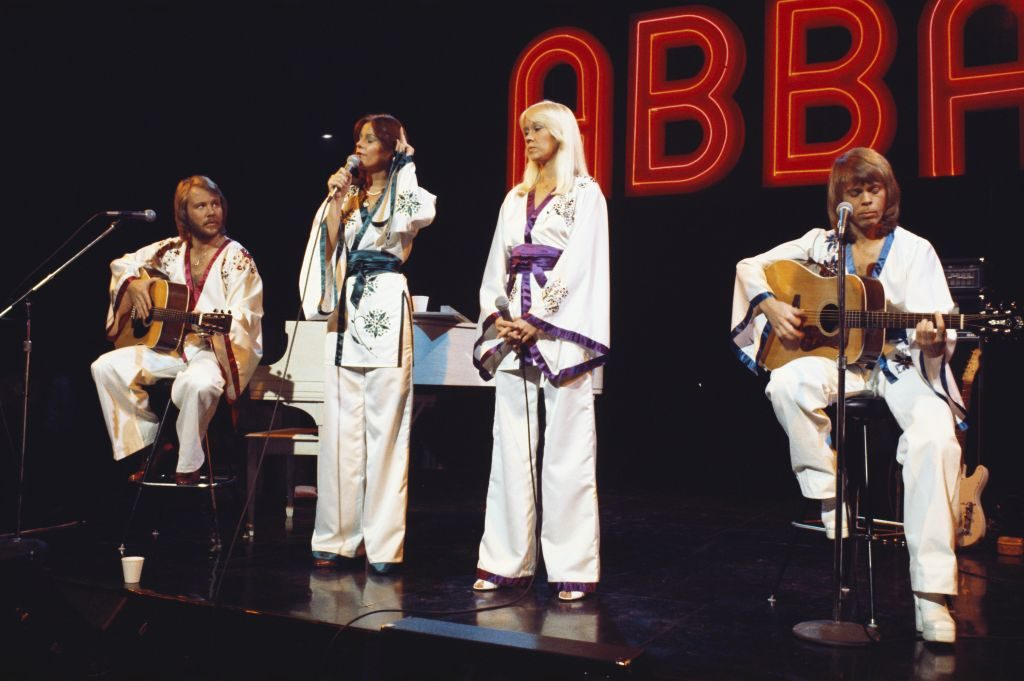 The musical group ABBA, 1977