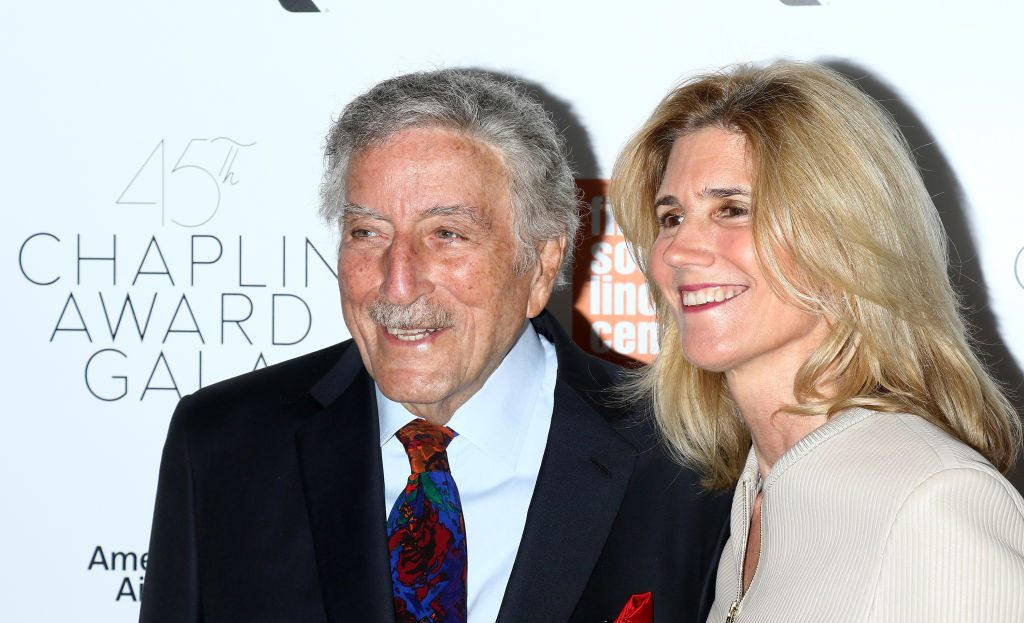 Tony Bennett and his wife, Susan