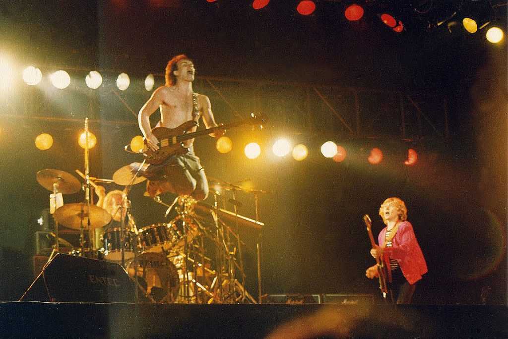 Stewart Copeland, Sting and Andy Summers of The Police