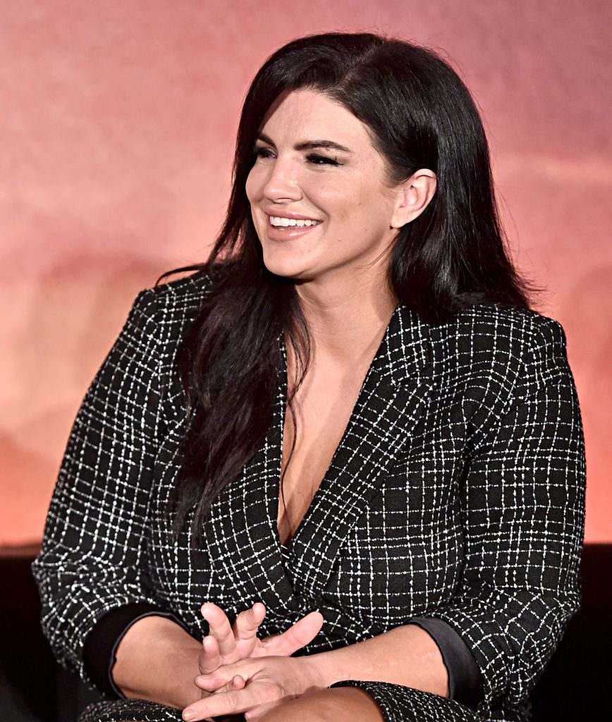 Gina Carano - The Mandalorian press conference