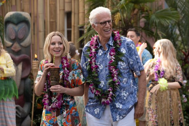 The Good Place, which streams on Netflix