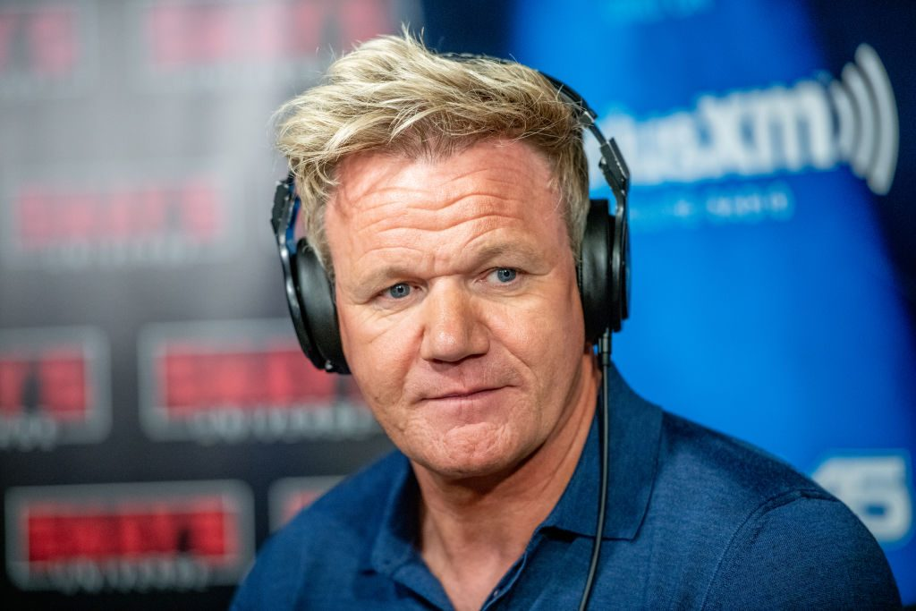 Gordon Ramsay in an interview