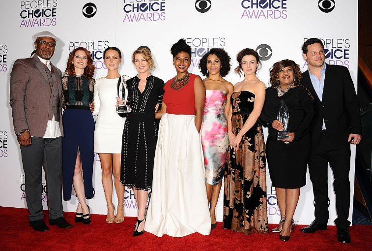 Many of the female cast members of Grey's Anatomy