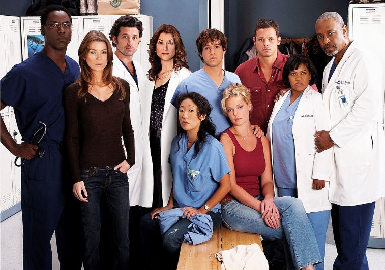 Grey's Anatomy OG Cast