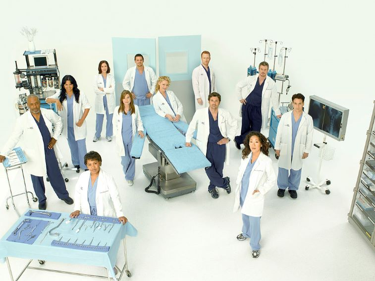 Grey's Anatomy Original Cast