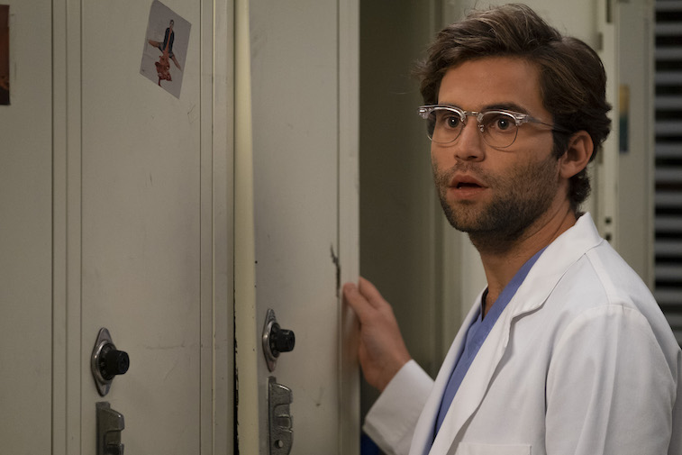 Jake Borelli on Grey's Anatomy