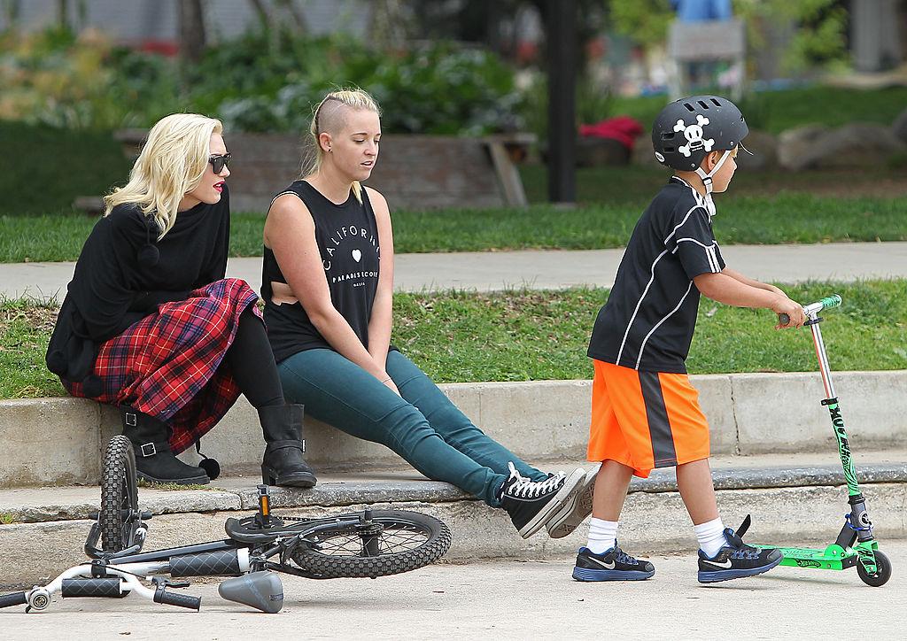 Gwen Stefani and Mindy Mann