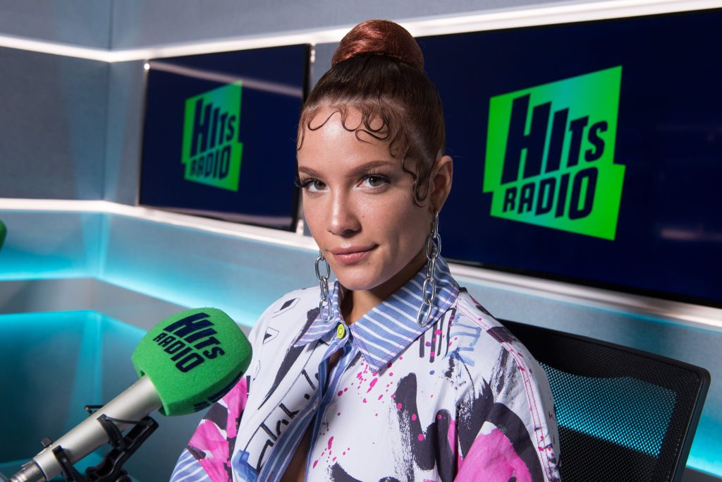 Halsey promoting Manic which she says is better than Badlands