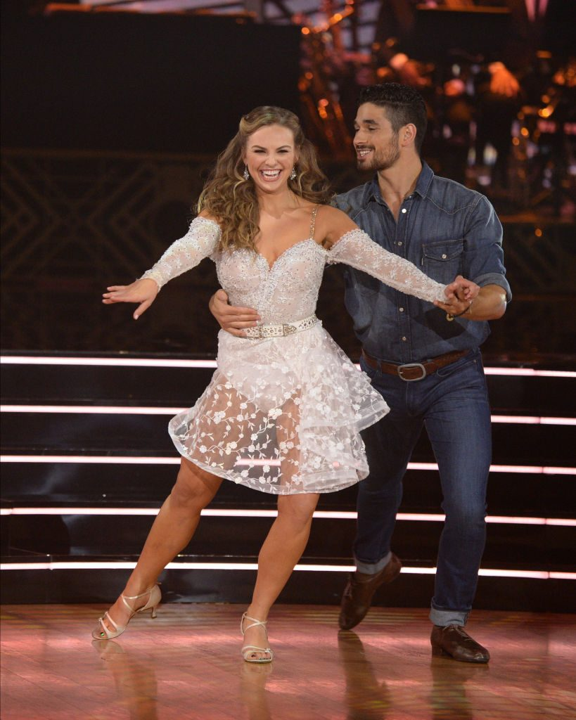 Hannah Brown and Alan Bersten | Eric McCandless/ABC via Getty Images
